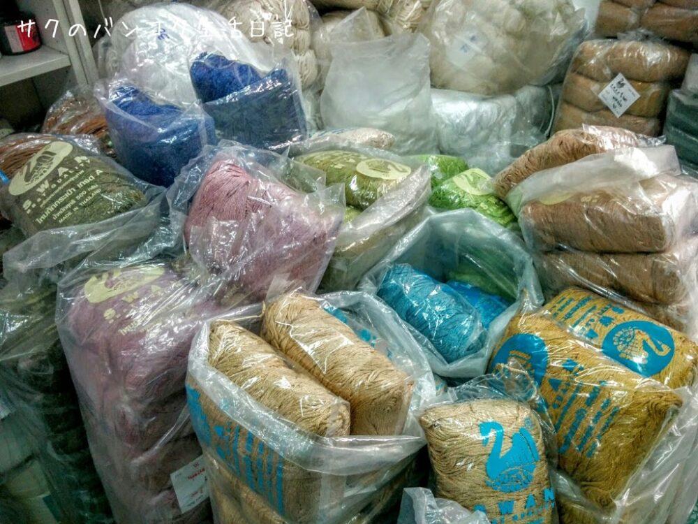 バンコクでマクラメコードを買うならヤワラートのスワンが定番です