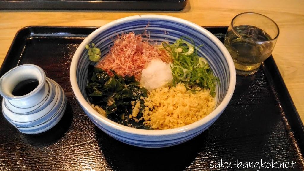 【生そばあずま】バンコクで蕎麦を食べるならココ