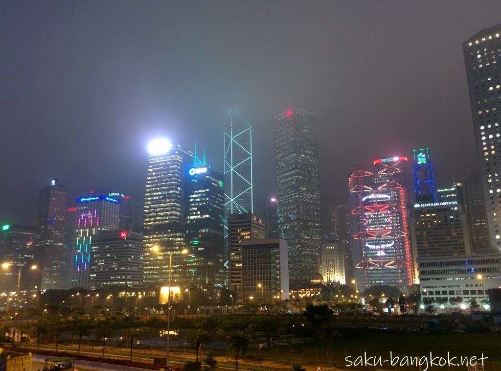 香港・マカオ旅行2016【その7・香港街歩きと百万ドルの夜景!?】