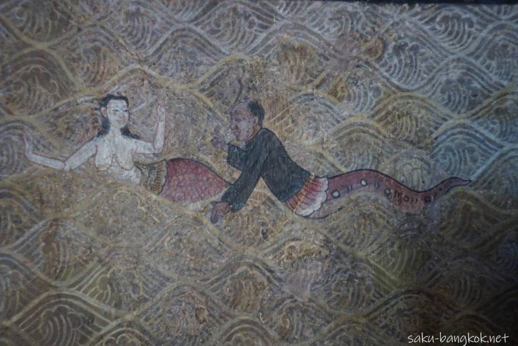 ワット・スタットの壁画