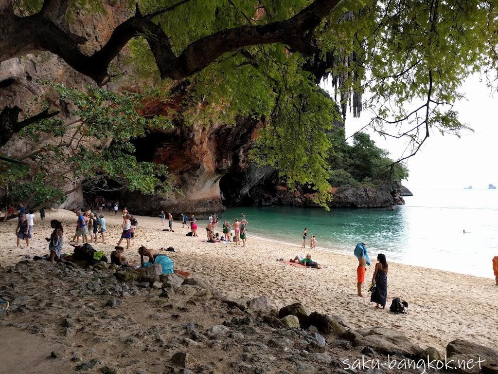 雨のクラビ旅行(7)~ライレイビーチ&プラナンビーチ