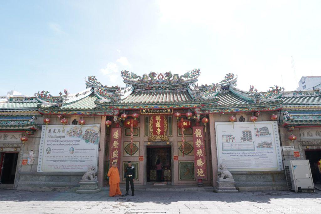 ワットマンコンカマラワート(中華街ヤワラート)の本堂