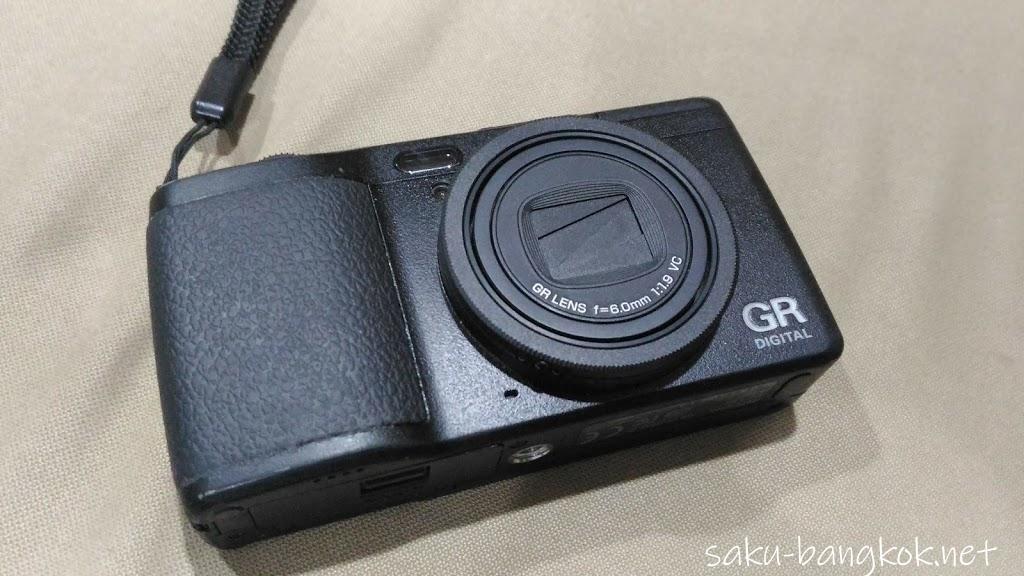 バンコクでRICOHのカメラを修理してもらいました