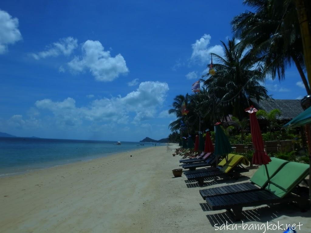 サムイ島のビーチ比較!バンポー/チャウエン/クリスタルビーチ