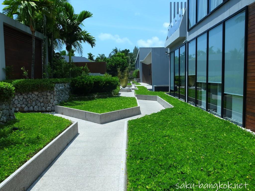 カオラックの5つ星デザインホテル Casa de la flora