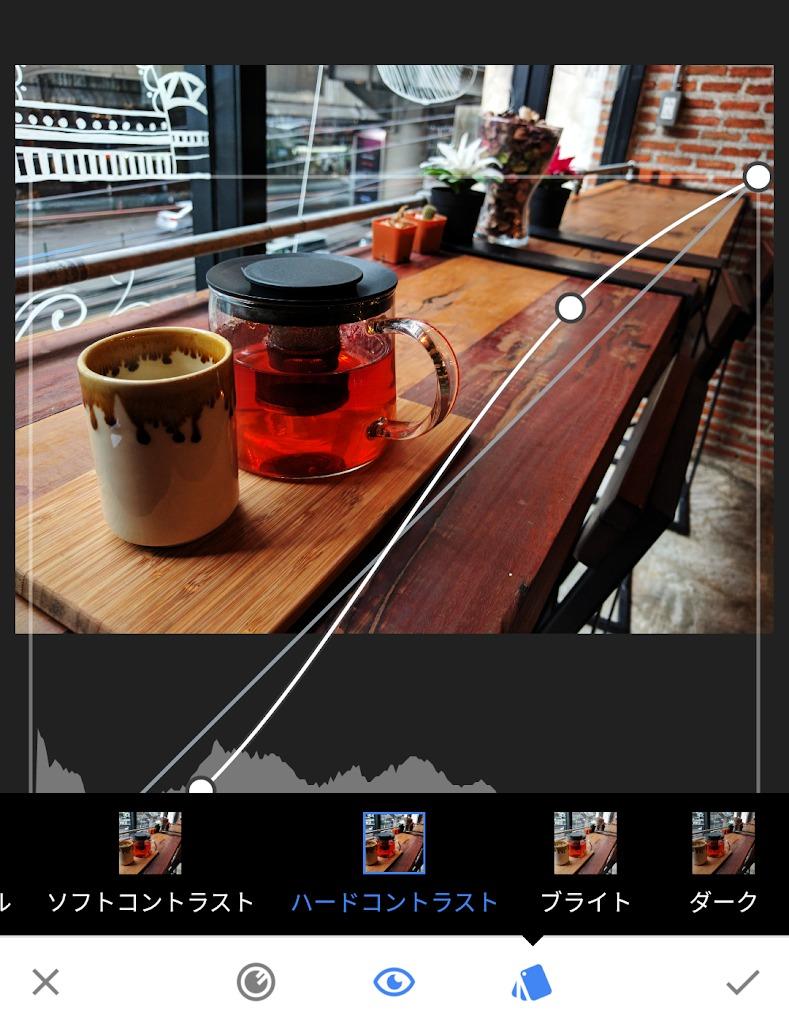 Snapseedを使った写真の文字入れがマイブームです