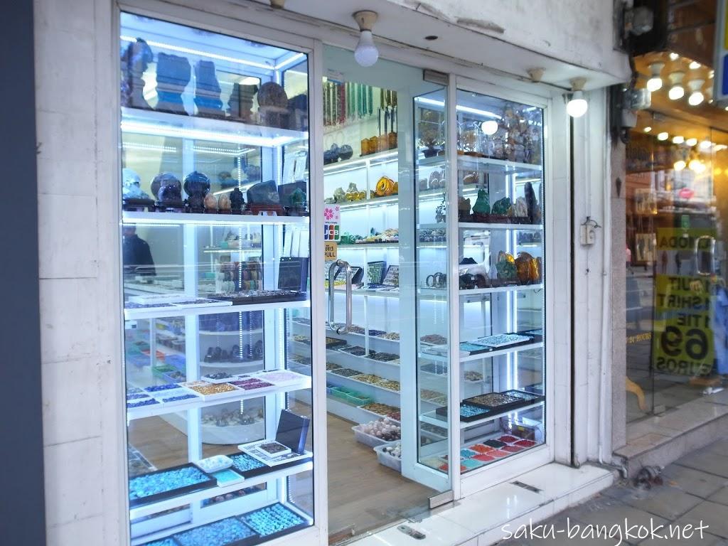 バンコクでアクセサリー用天然石パーツを購入@BTSサパンタクシン駅周辺