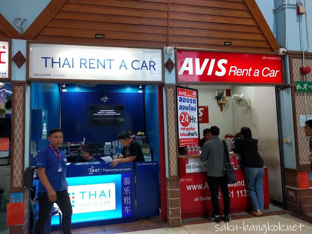タイ・チェンライでレンタカーを借りてみた