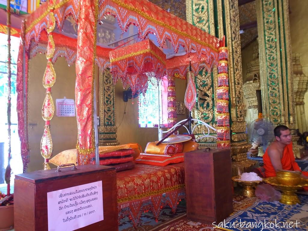 ビエンチャンの寺ワット・シームアン