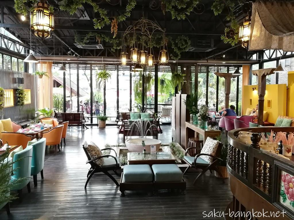 Vieng Joom On Teahouseはピン川沿いのおしゃれカフェ【チェンマイ旅行記201