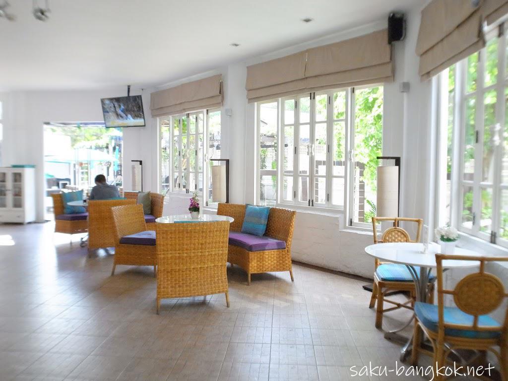 パタヤのアレカ・ロッジ(Areca Lodge)のレストラン