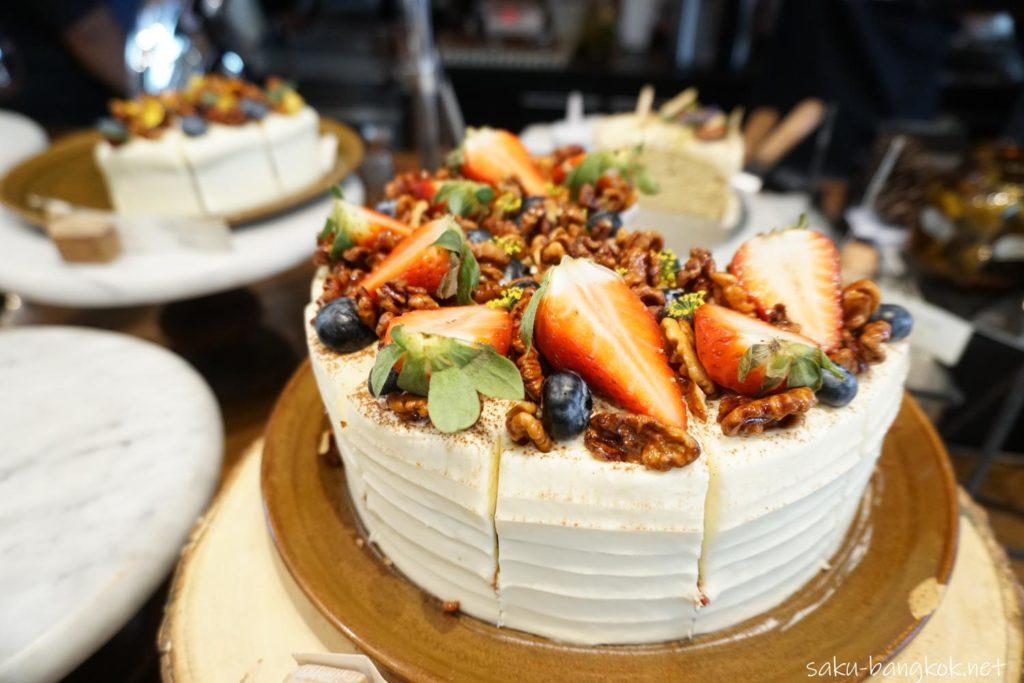 Wallflowers Cafeのケーキ