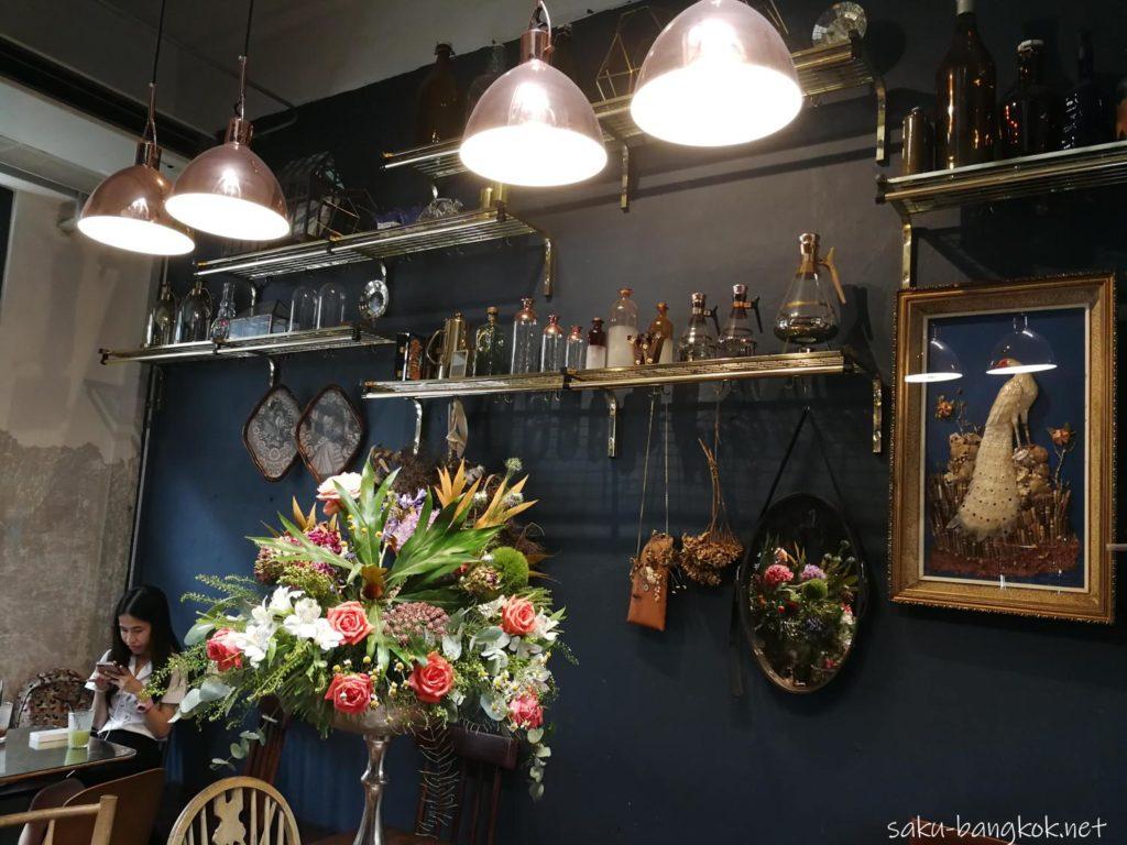 Wallflowers Cafeの内装