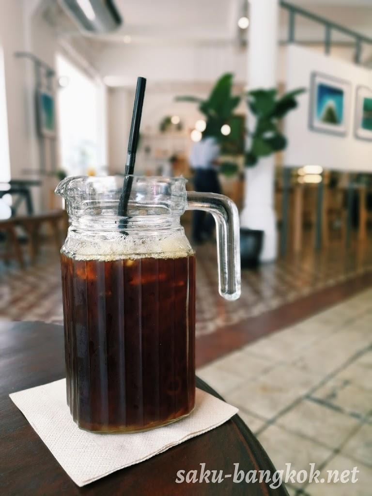 【Gallery Drip Coffee WANGBREWPA】パフラットのおしゃれカフェ