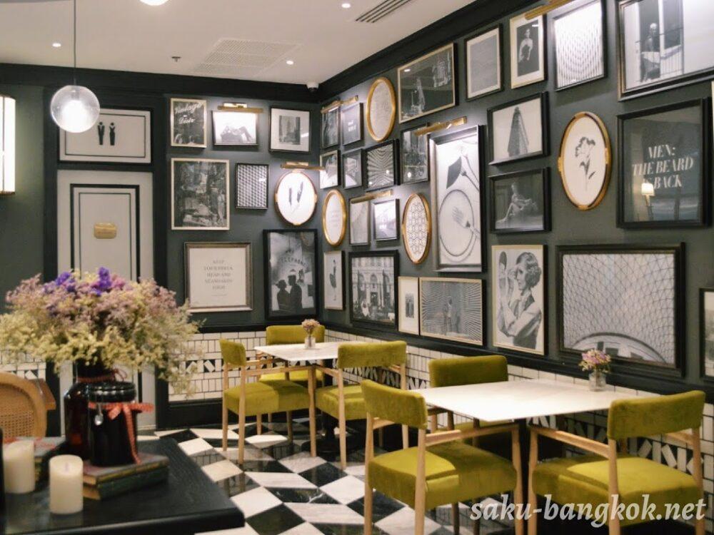 Bar Storia del Caffèの奥の部屋