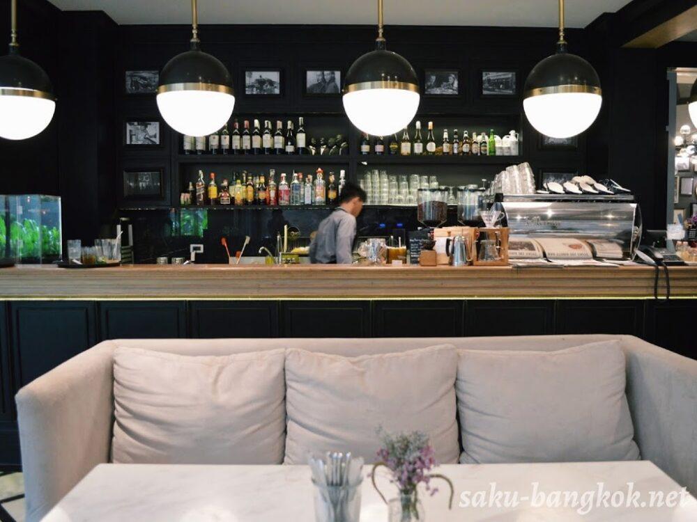 Bar Storia del Caffèのバーカウンター