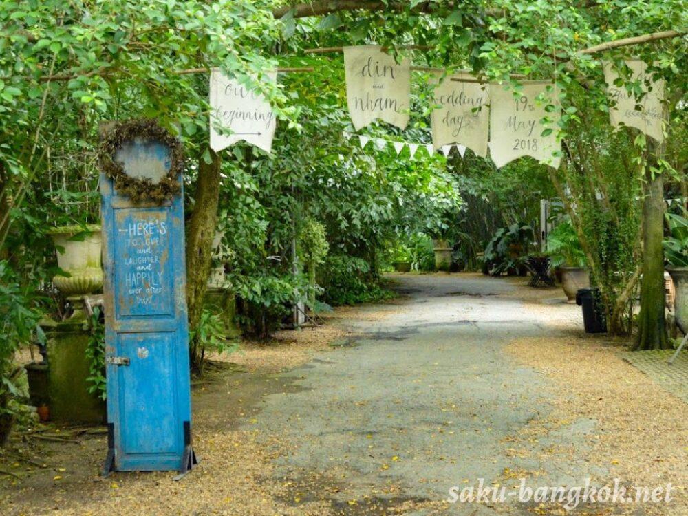 森の中にあるおしゃれカフェ【Little Tree Garden Cafe】@ナコンパトム