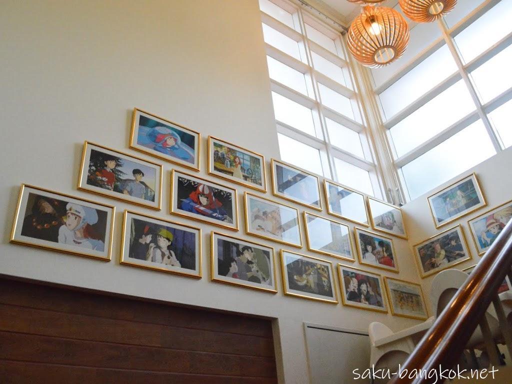 May's Garden House Restaurant(メイのレストラン)の階段