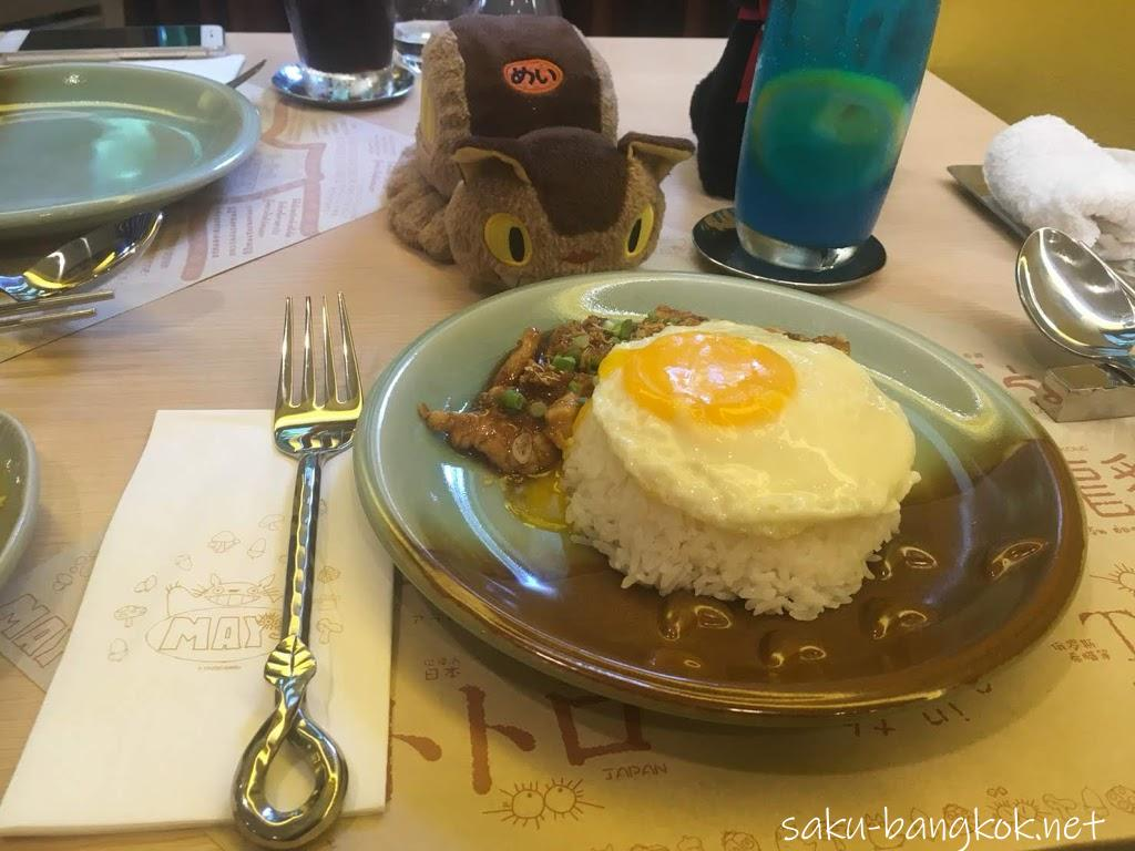May's Garden House Restaurant(メイのレストラン)のガーリック鶏肉ソテー