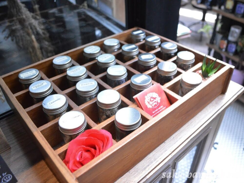 The Blooming Gallery(ザブルーミングギャラリー)のお茶