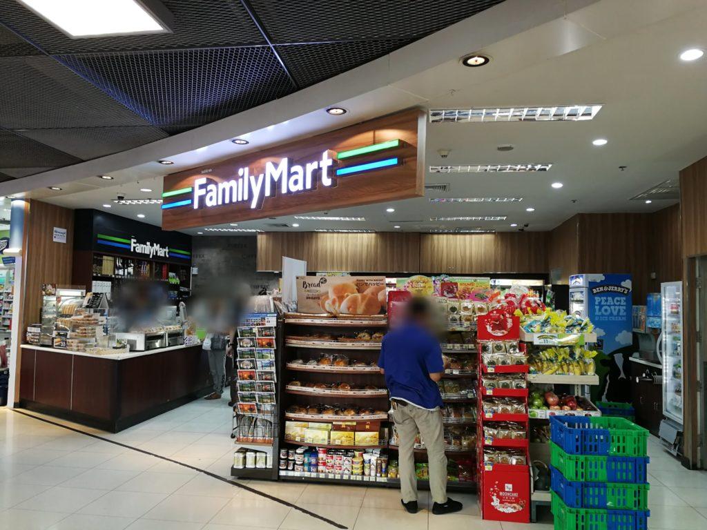 スワンナプーム国際空港3階ファミリーマート