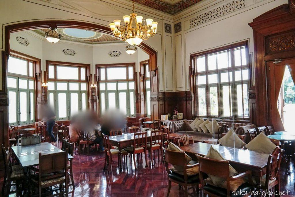 【カフェドノラシン】パヤタイパレスに併設されたカフェで優雅な時間を