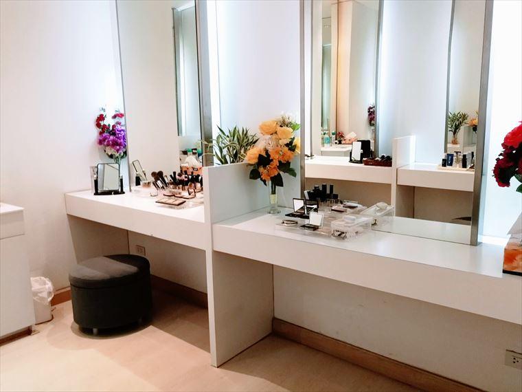 KOSE Beauty Centerのパウダールーム