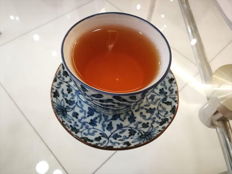 KOSE Beauty Centerで出されるお茶