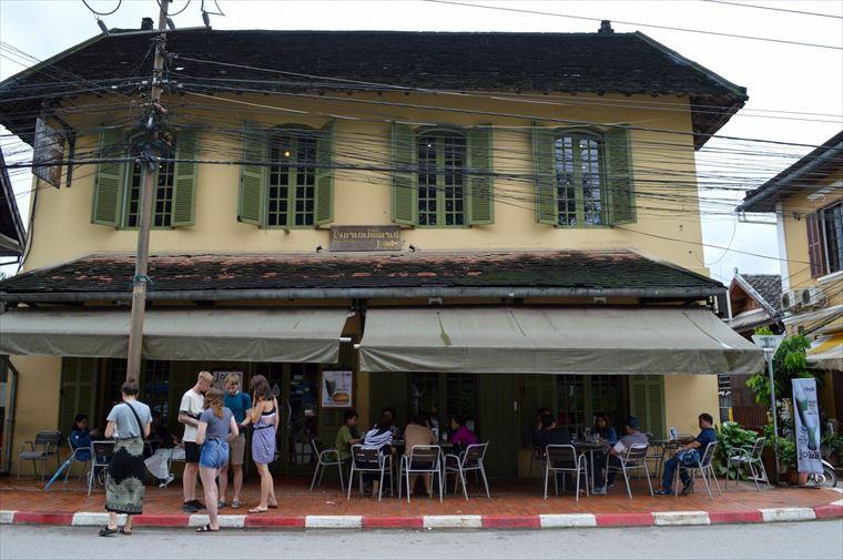 ルアンパバーンのJoma Bakery Cafeの外観