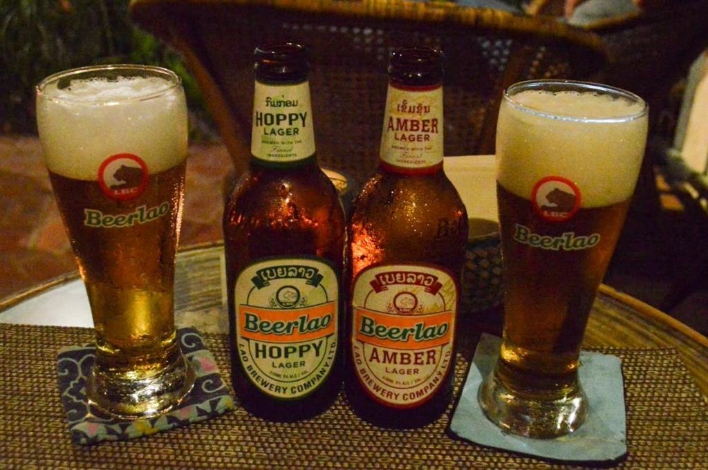 ビアラオホッピー(Beer Lao Hoppy)とビアラオアンバー(Beer Lao Amber)