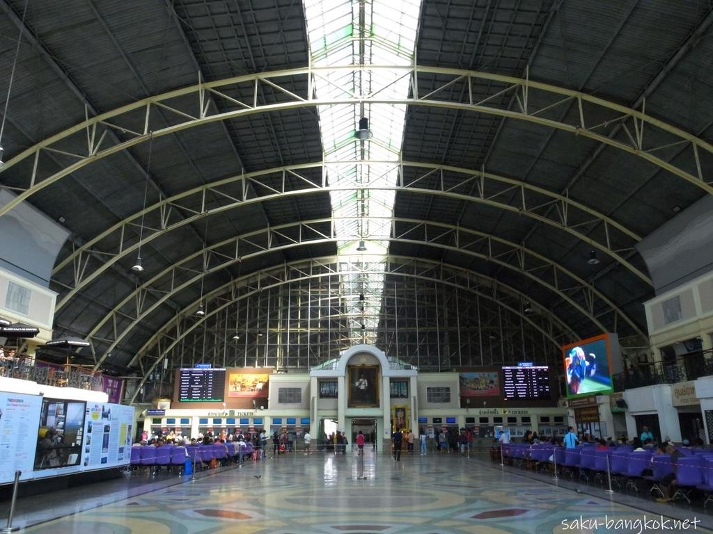 バンコク フアランポーン駅 の駅舎内