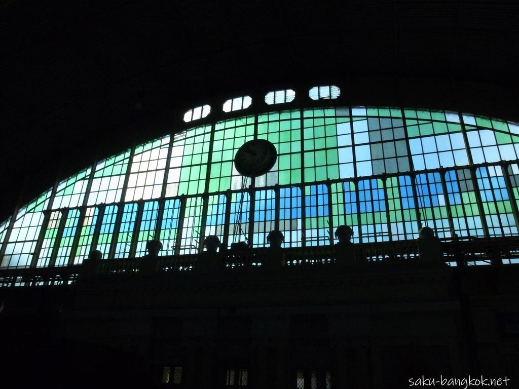 フアランポーン駅 ステンドグラス