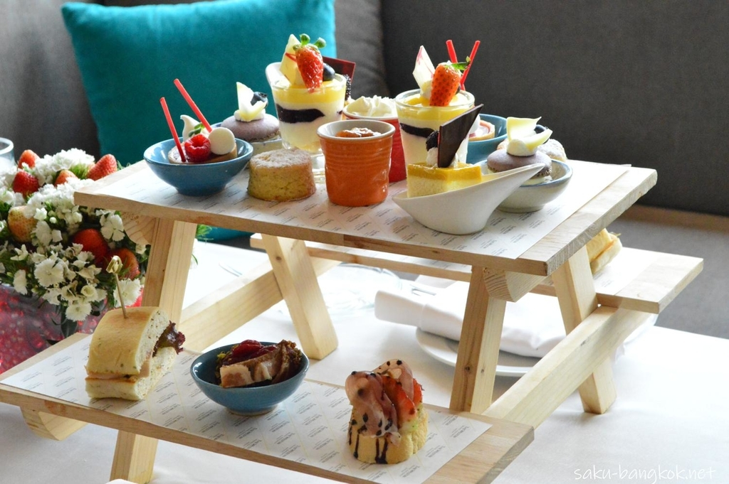The Westin Grande Sukhumvit, Bangkok Very Berry High Tea