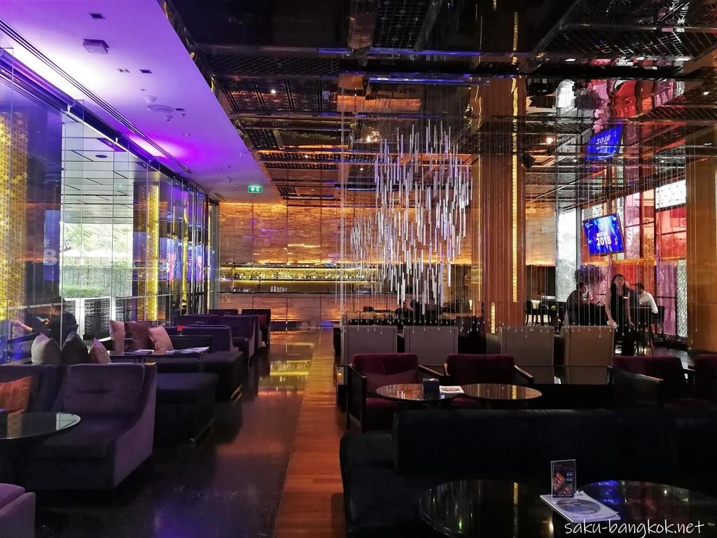 Renaissance Bangkok Ratchaprasong Hotel R bar high tea