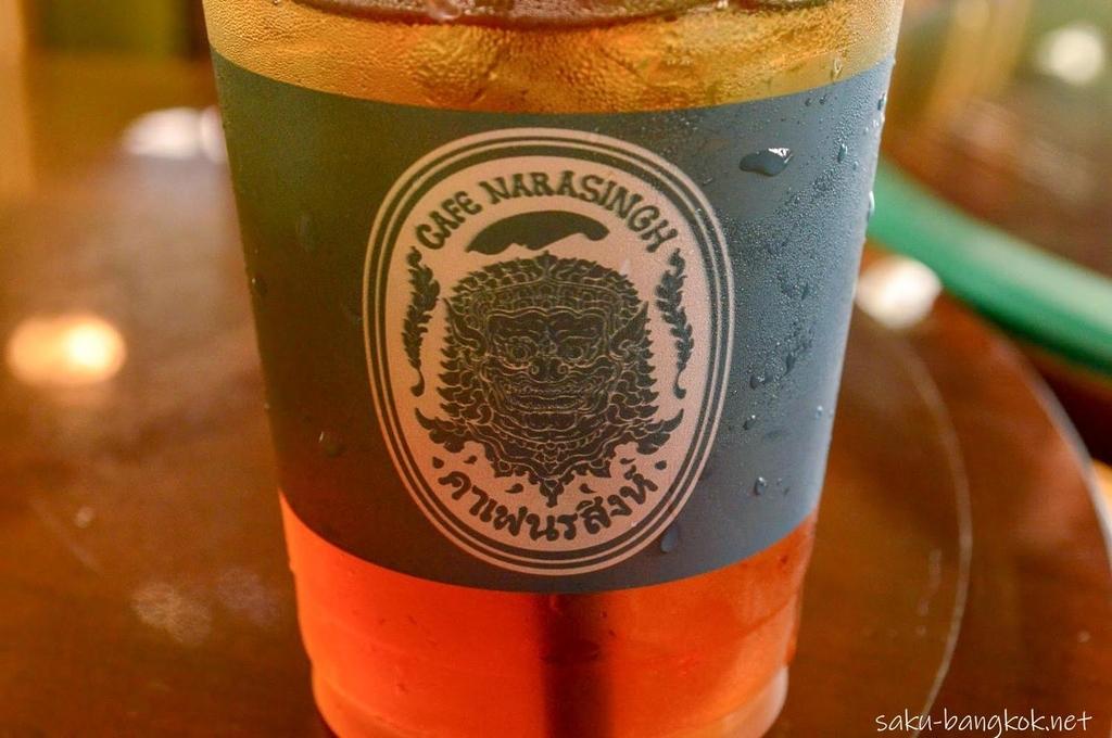 カフェドノラシンのプラスチックカップ