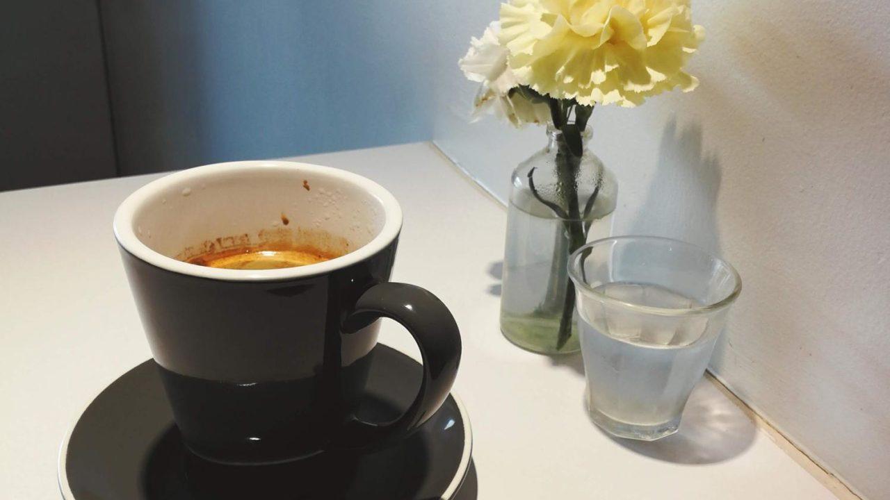 インビジブル Invisible Coffee Roomのアメリカーノ