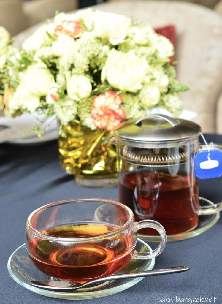 ウェスティンバンコクのハイティーのお茶