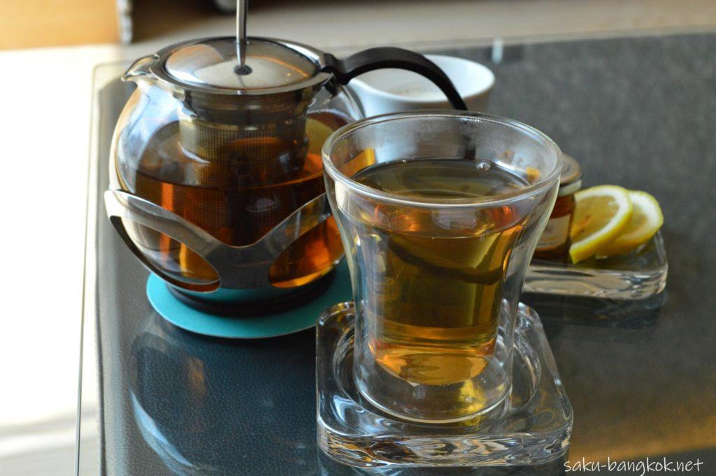 ルメリディアンバンコクのアフタヌーンティー お茶