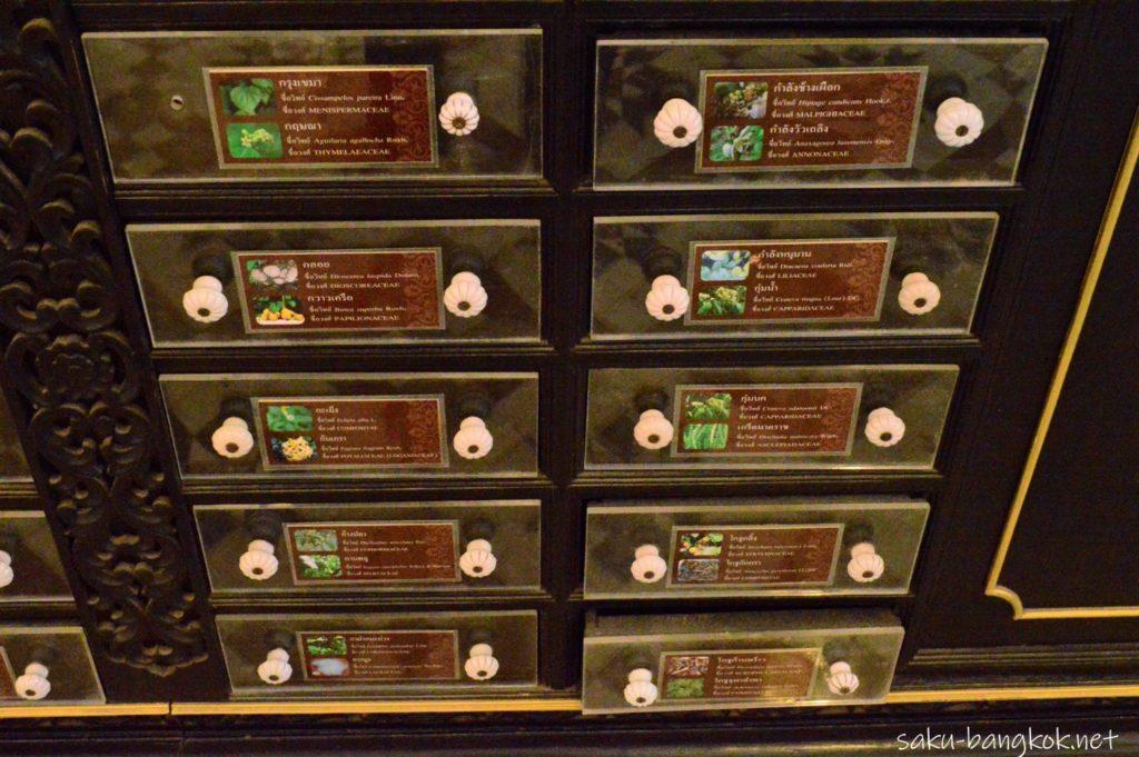 アバイブーベ博物館の戸棚