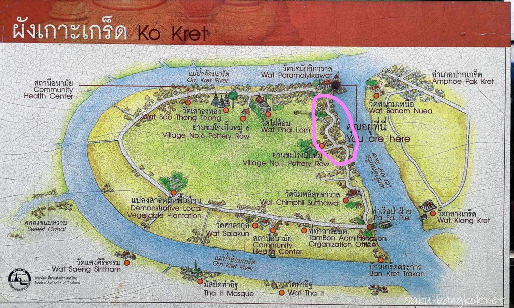 クレット島の東側ゾーン