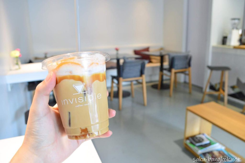インビジブル Invisible Coffee RoomのSea Salted Caramel Latte