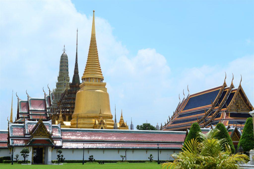 バンコクの王宮・エメラルド寺院
