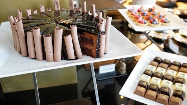 スコータイホテルのチョコレートブッフェ