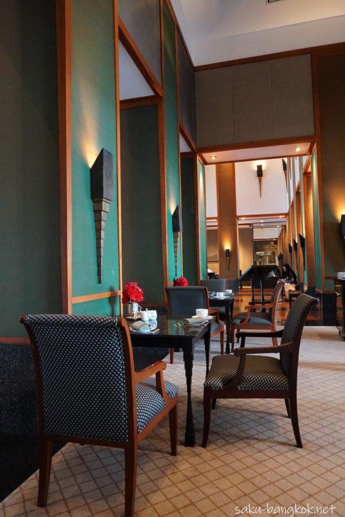 スコータイホテルのチョコレートブッフェの会場