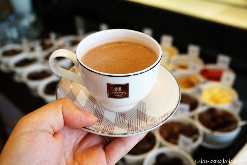 スコータイホテルのチョコレートブッフェ チョコレートドリンク