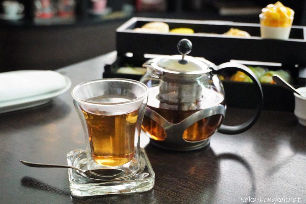 ル・メリディアンバンコク マンゴーアフタヌーンティーのお茶