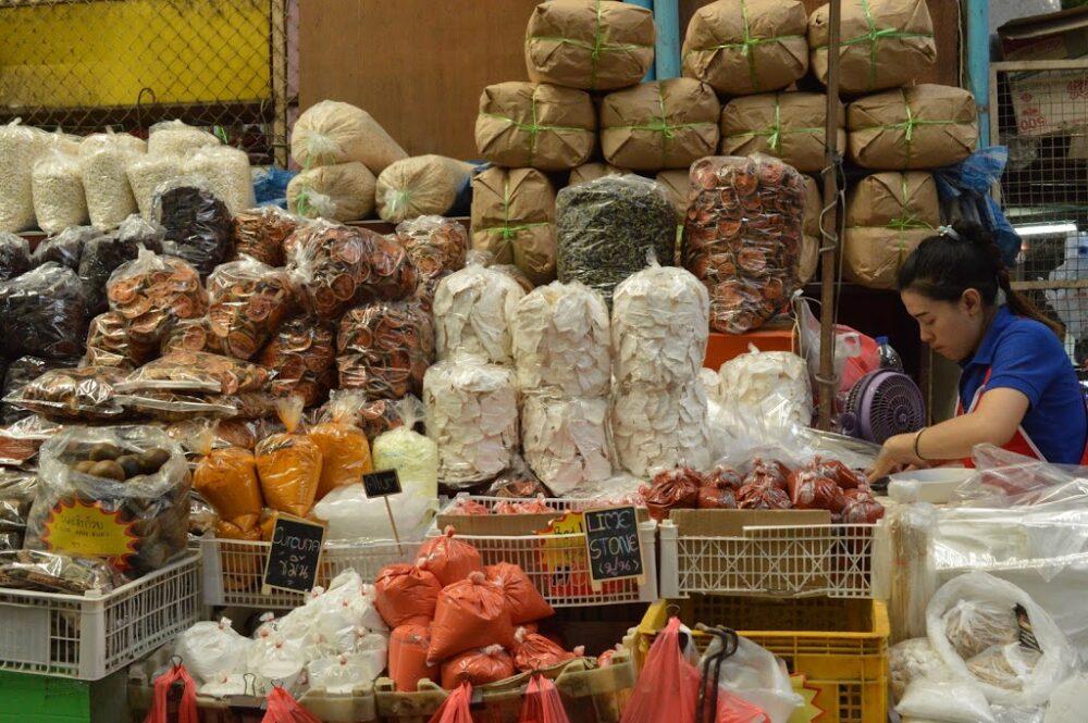 パークローン市場内のハーブゾーン