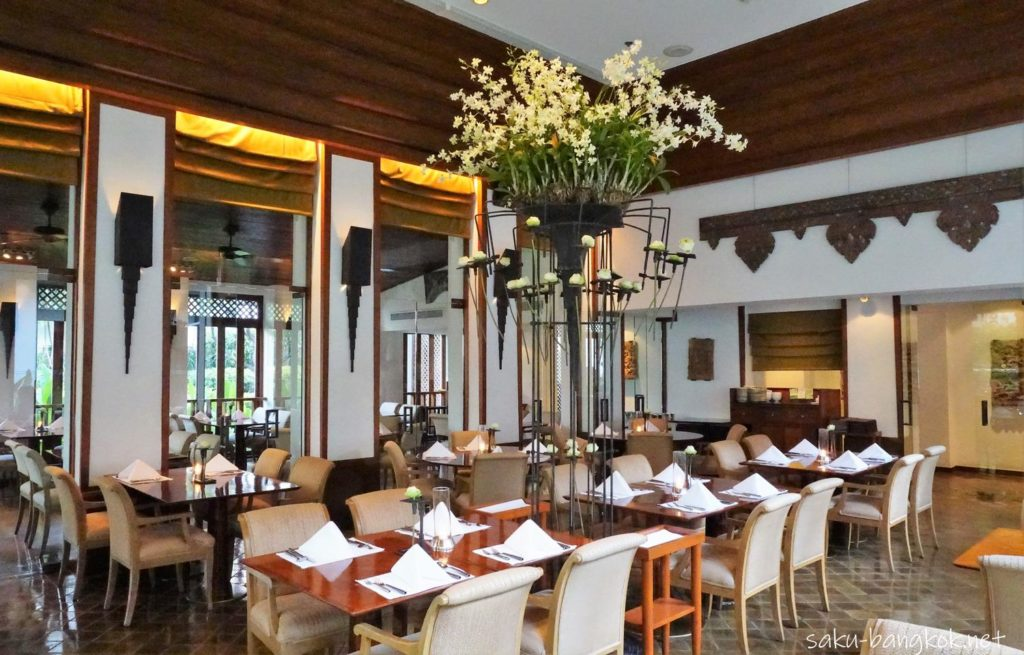 Celadon Restaurant 食事スペース