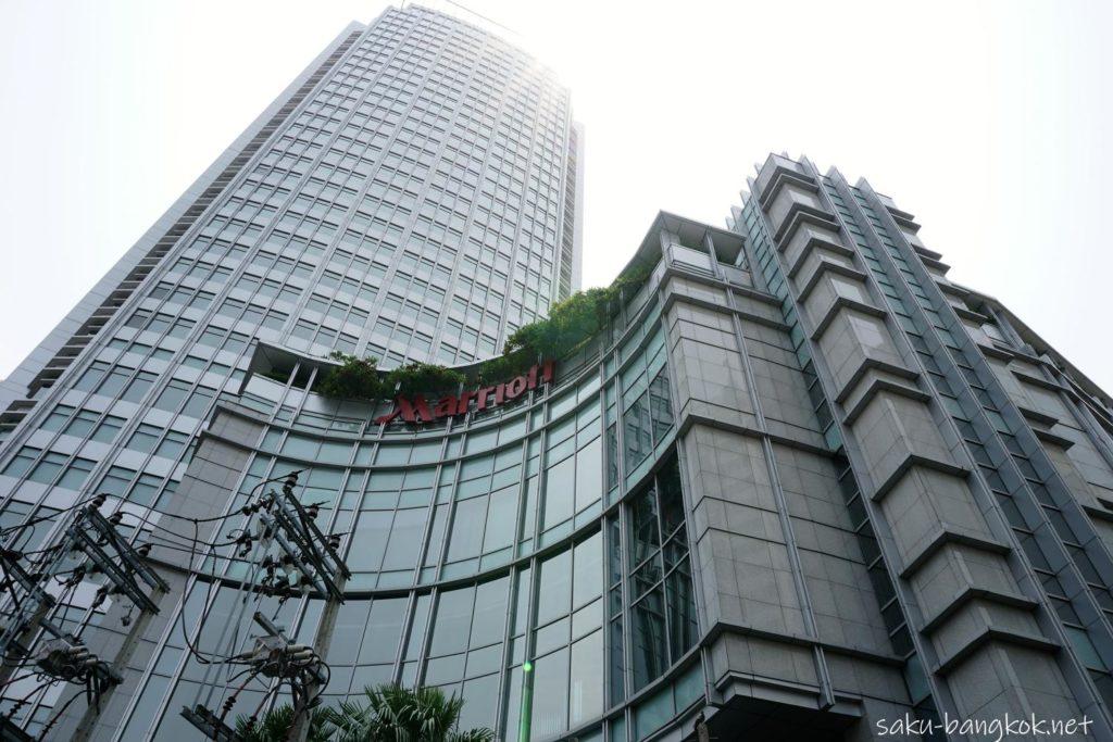 Bangkok Marriott Hotel Sukhumvit バンコク・マリオットホテル・スクンビットの外観