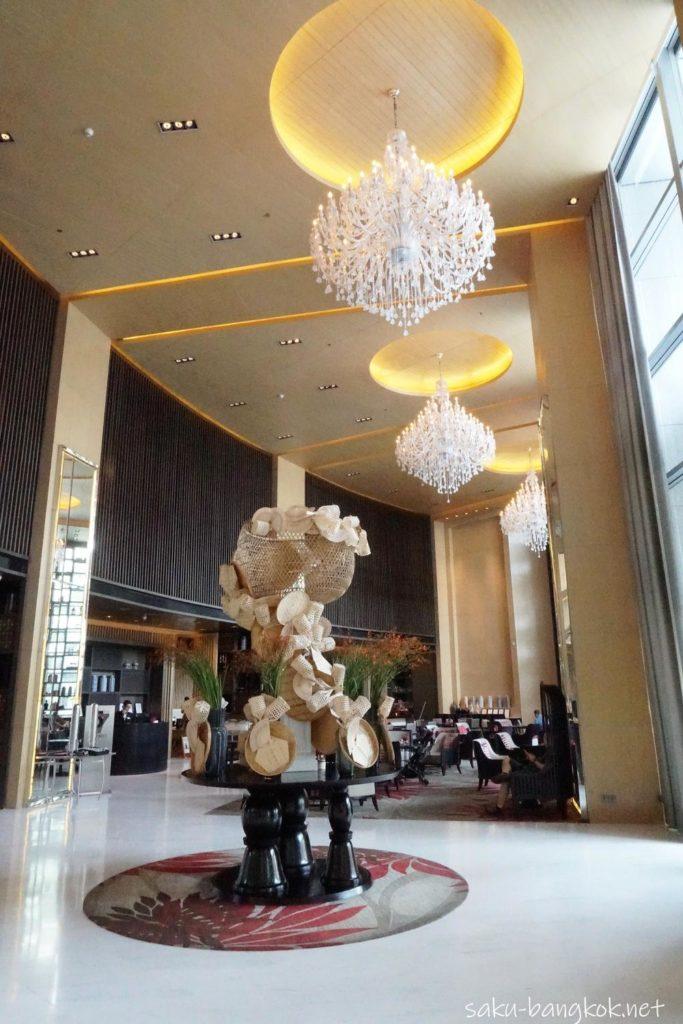 Bangkok Marriott Hotel Sukhumvitのロビー